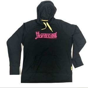 "NIKE LIVESTRONG ""BE INVINCIBLE"" WOMENS HOODIE"